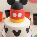 Tarta fondant de Mickey ¡paso a paso!