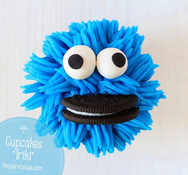 Como hacer cupcakes Monstruo de las Galletas