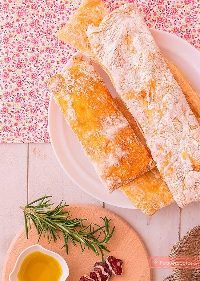 pan de cristal casero receta