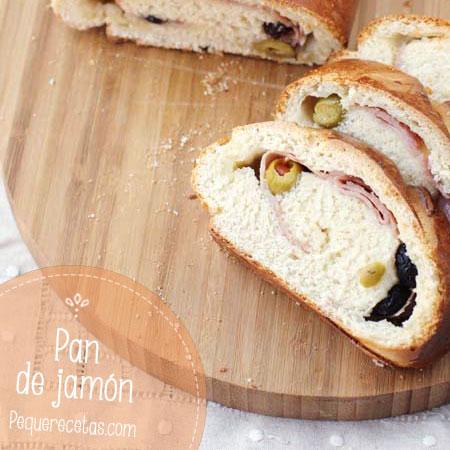 Pan de jamón, cena fácil
