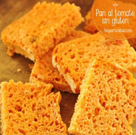 Receta sin gluten: pan al tomate
