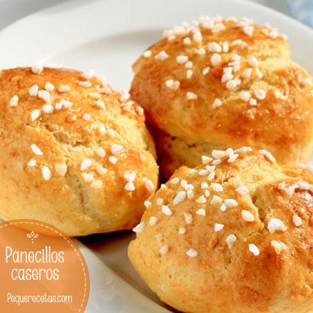 Panecillos caseros, receta de pan fácil