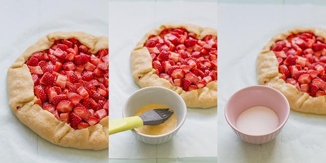 decoración-galette-de-fresas