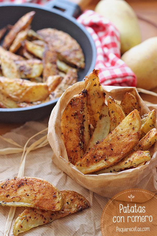 Patatas al horno con romero pequerecetas bloglovin - Patatas pequenas al horno ...