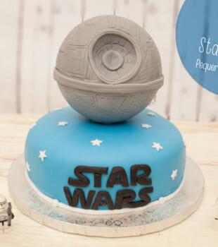 Cómo hacer una tarta fondant de Star Wars