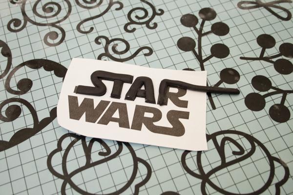 Cómo hacer una tarta fácil de Star Wars