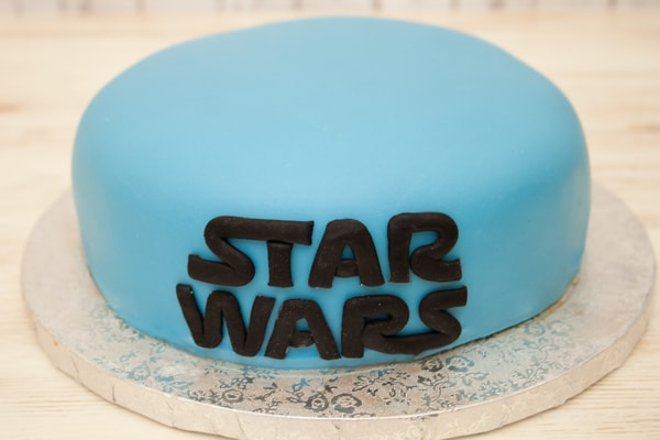 Paso a paso tarta Star Wars
