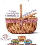 ¡Sorteo de 6 lotes de cesta de picnic + Ensaladas Bol!