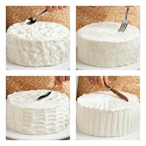 Tartas f ciles c mo decorar tartas con frosting for Tortas decoradas faciles