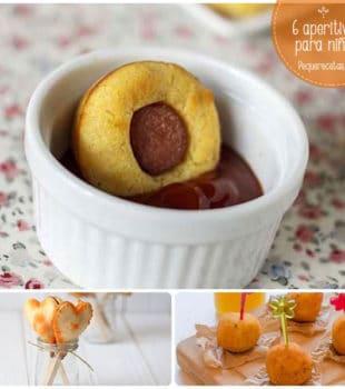 Picoteo, aperitivos para niños