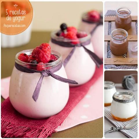 Yogur Casero 5 Recetas Irresistibles