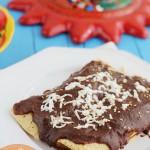 Enchiladas de Pollo con mole… ¡un manjar!