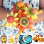 Recetas para niños: ¡frutas divertidas!