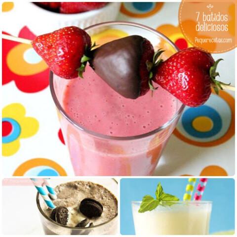 Batidos De Frutas 7 Recetas Saludables Y Faciles Pequerecetas