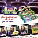 Consigue 2 entradas de cine+1 lote de Atún Naturfresh