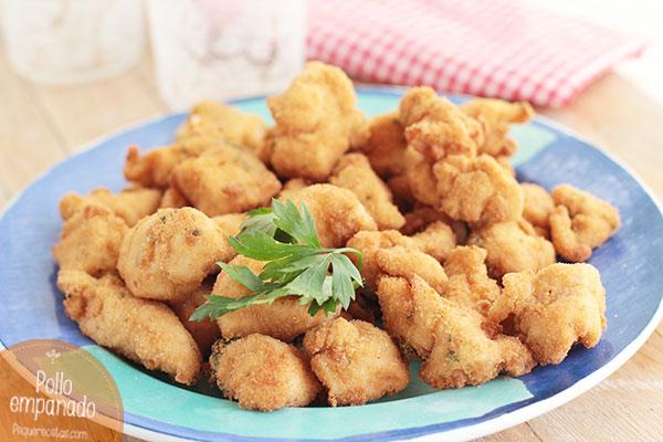 Pollo-empanado