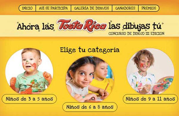 Concurso de dibujo Tosta Rica