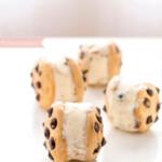 Cookies de chocolate con helado, ¡una idea veraniega!