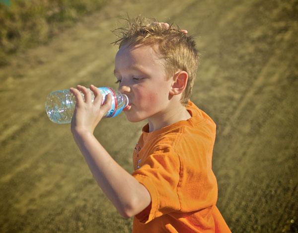 hidratación infantil