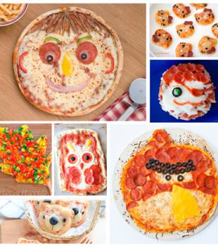 Recetas de pizzas para niños
