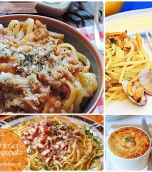 Recetas de espaguetis