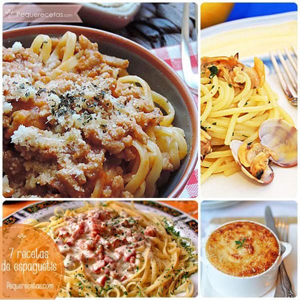 7 Recetas De Espaguetis Para Chuparse Los Dedos