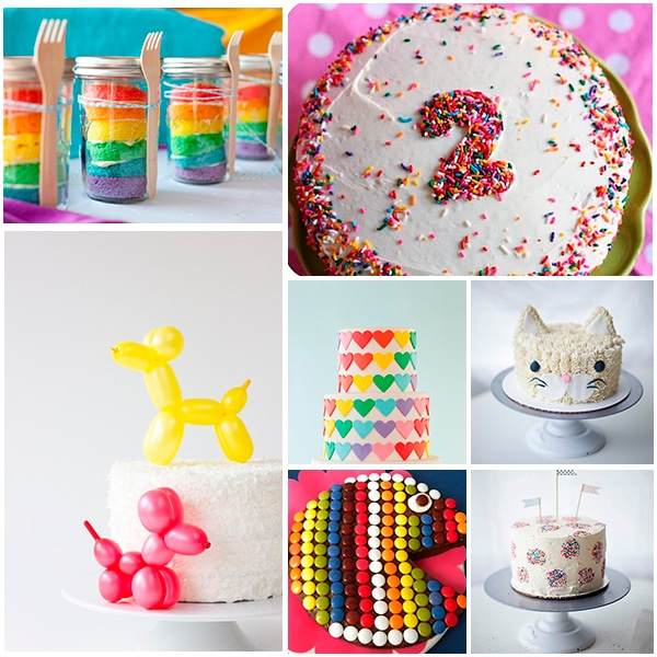 Tartas de cumplea os 7 ideas f ciles y divertidas for Ideas faciles para la casa