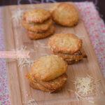Galletas fáciles de queso Emmental
