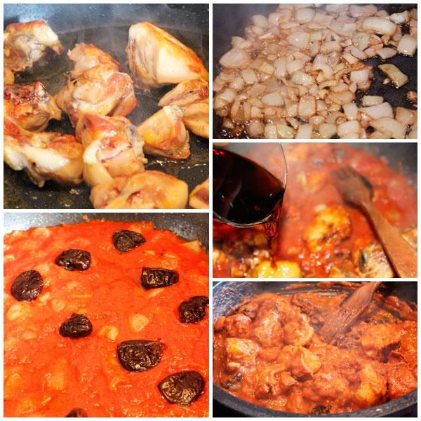 Pollo-con-salsa-de-tomate-pasos
