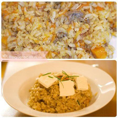 Recetas con calabaza y arroz