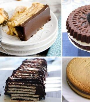 tarta de galletas receta