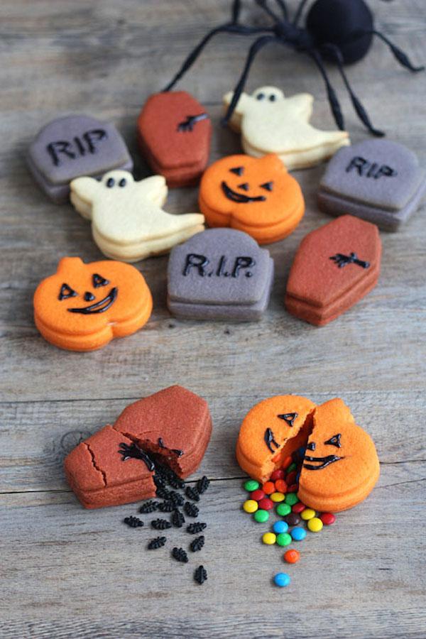 5 Galletas De Halloween Fáciles Pequerecetas