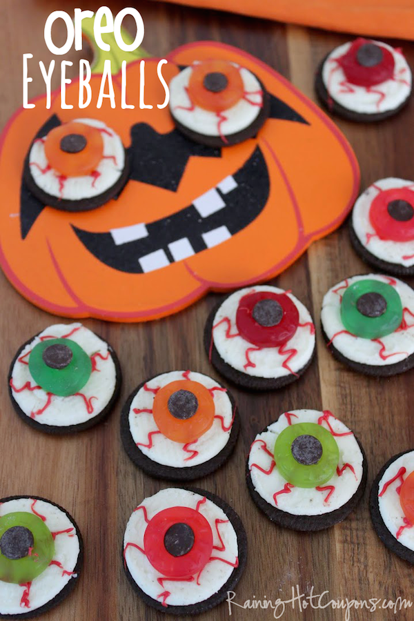 Recetas divertidas para Halloween