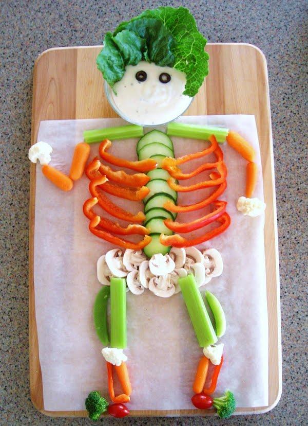 Recetas saludables para Halloween