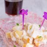 Patatas con lactonesa, una receta sin huevo
