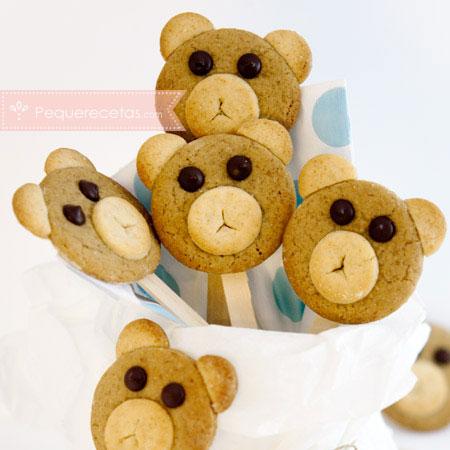 Piruletas, recetas de piruletas de galletas