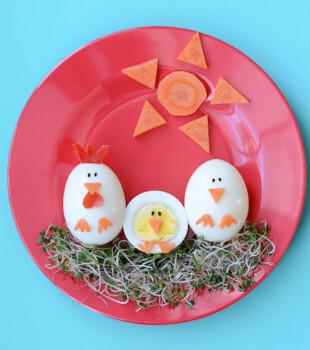 Recetas con huevo divertidas