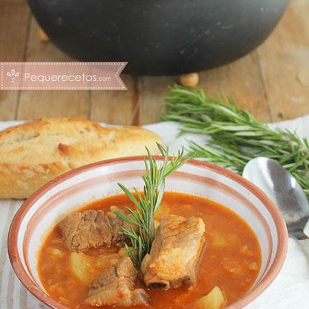 Costillas: receta de patatas con costillas