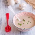 Crema de champiñones, una receta de invierno