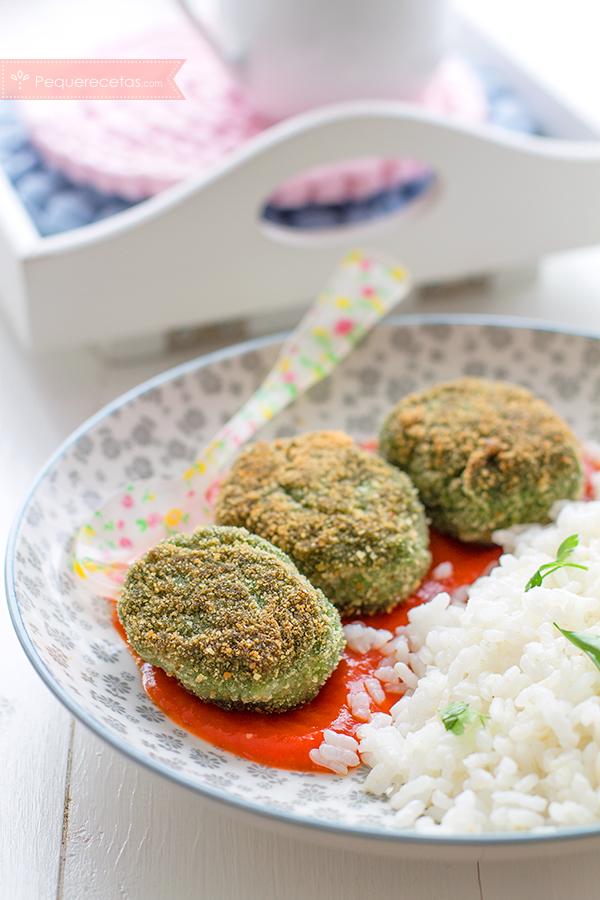 Alb ndigas de espinacas receta f cil con verduras for Albondigas de verduras