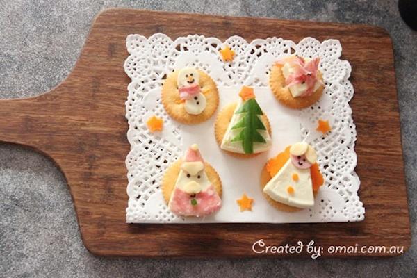 Aperitivos de Navidad para niños