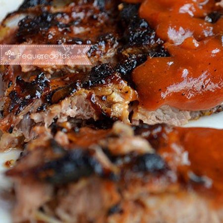 Costillas: receta de costillas con salsa barbacoa