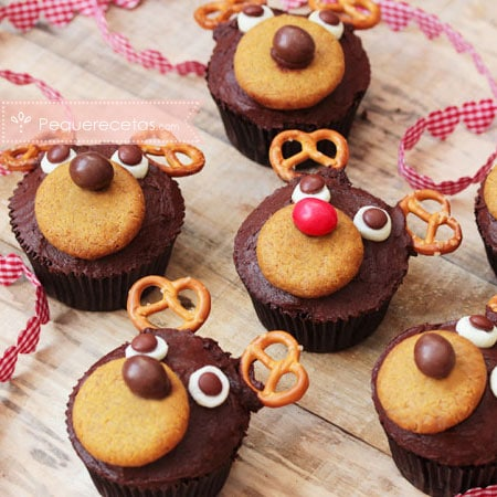 Postres de Navidad: cupcakes