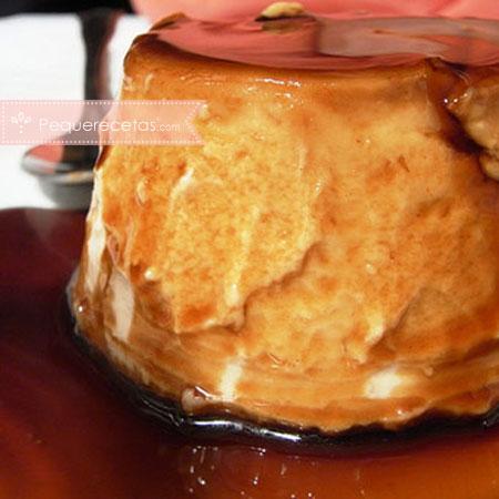 Turrón: receta de flan de turrón