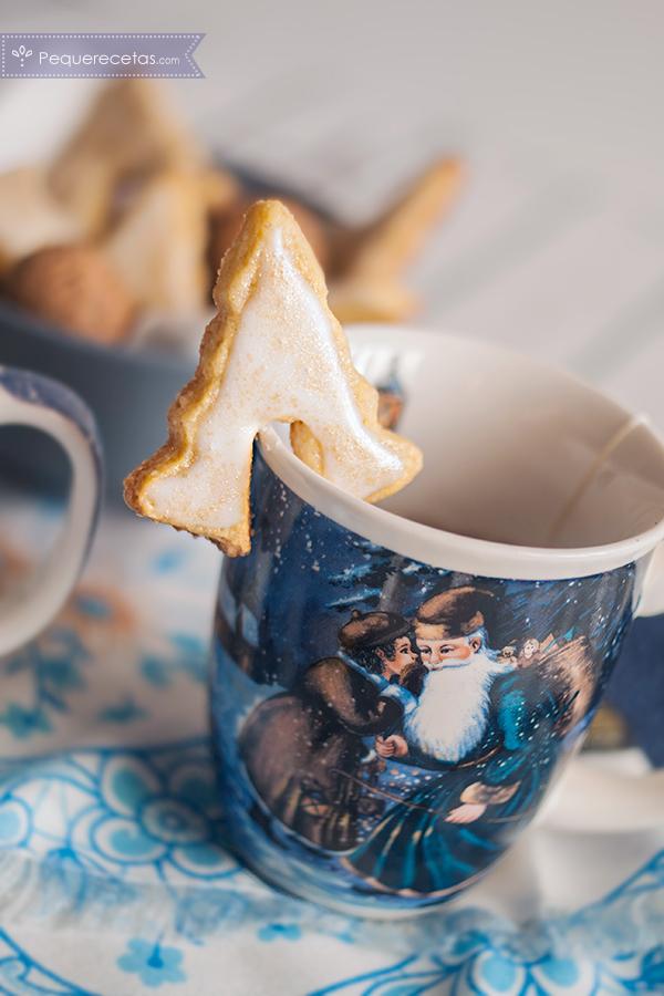 Deliciosas galletas navideñas de jengibre