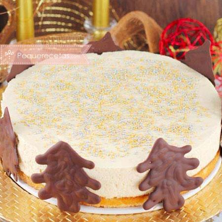 Turrón, receta de tarta de turrón