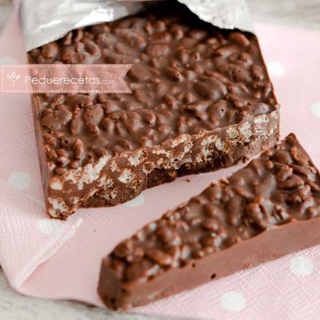 Turrón: receta de turrón de chocolate
