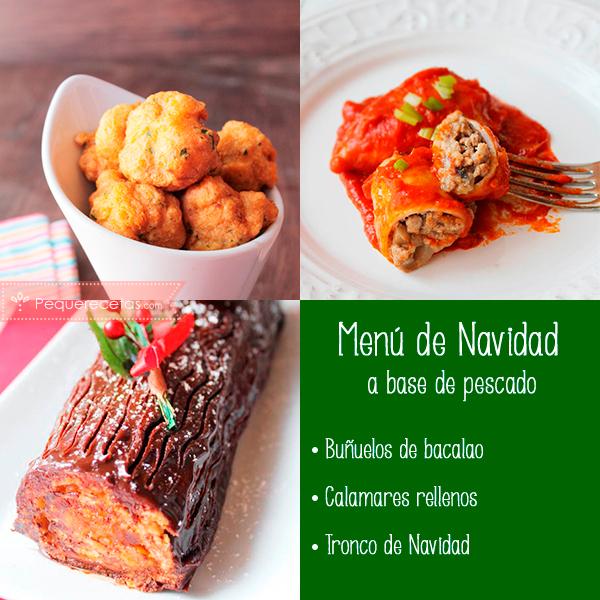 4 menús de Navidad a base de pescado - PequeRecetas