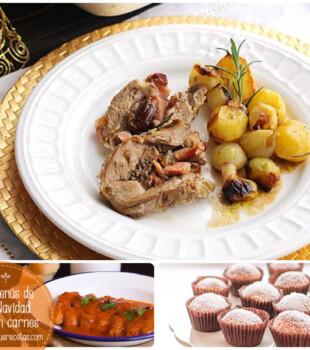 Menús de Navidad con carnes