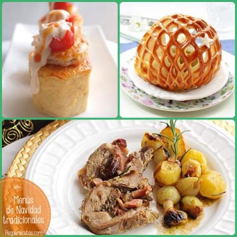 4 Menús Con Recetas De Navidad Tradicionales